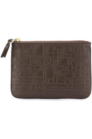 Comme des Garçons Embossed Logo' purse