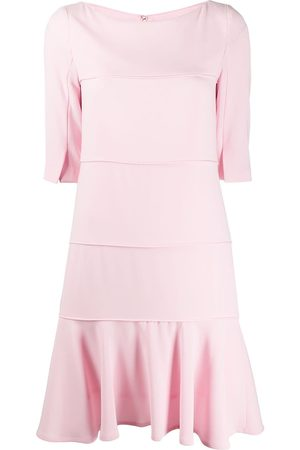 TALBOT RUNHOF Panelled shift dress