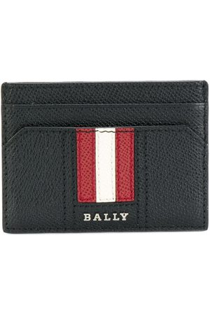 Bally Men Wallets - Signature stripe cardholder