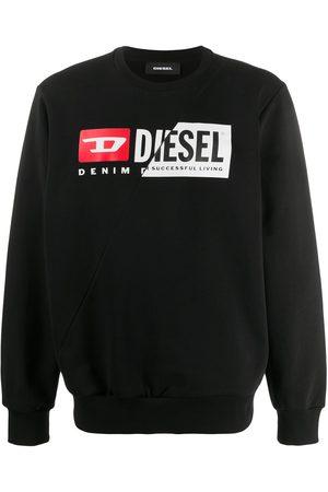 Diesel Men Sweatshirts - Logo print sweatshirt