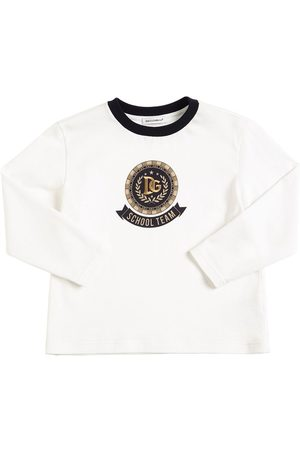 Dolce & Gabbana Printed Jersey L/s T-shirt