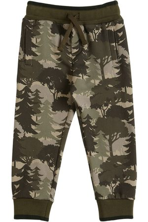 Dolce & Gabbana Printed Cotton Sweatpants