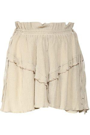 Isabel Marant Itelo Cotton & Viscose Mini Skirt