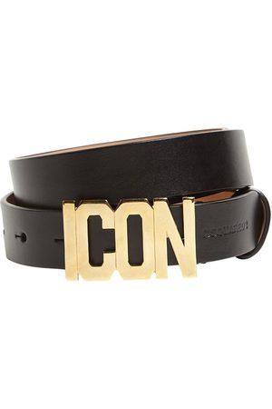 Dsquared2 Icon Buckle Leather Belt