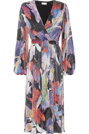 Rebecca Vallance Belladonna printed midi dress