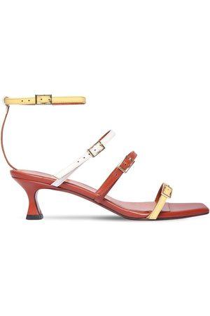 MANU Women Sandals - 50mm Naomi Leather Sandals