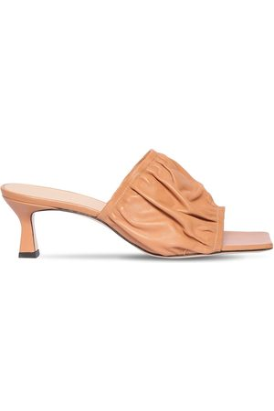 Wandler Women Sandals - 55mm Ava Leather Sandals
