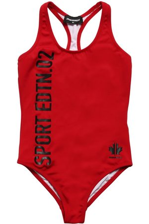 Dsquared2 Girls Bodysuits & All-In-Ones - Sport Printed One Piece Swimsuit