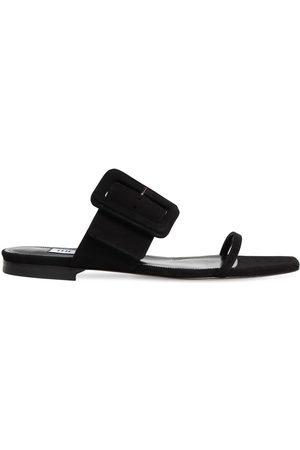 The Attico Women Sandals - 10mm Suede Sandals