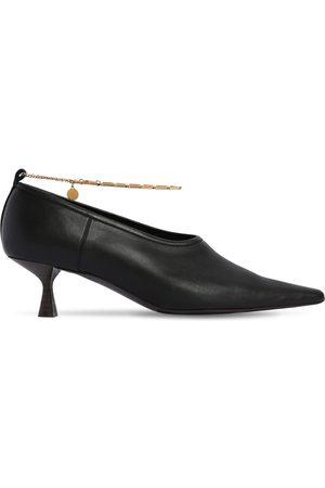 Stella McCartney Women Pumps - 50mm Mid Heel Faux Leather Pumps