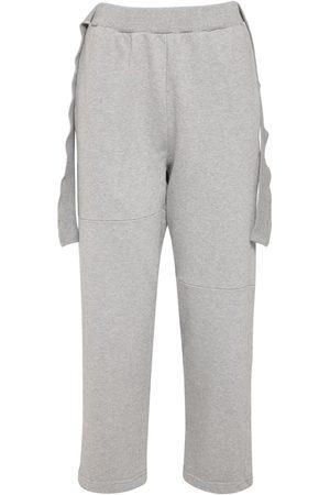 MM6 MAISON MARGIELA Cotton Sweatpants W/ Straps
