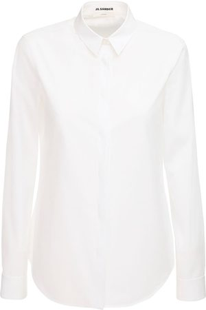 Jil Sander Women Shirts - Monday Cotton Poplin Shirt