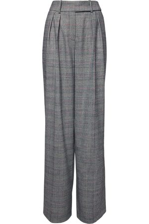 ALEXANDRE VAUTHIER Women Trousers - High Waist Prince Of Wales Wide Pants