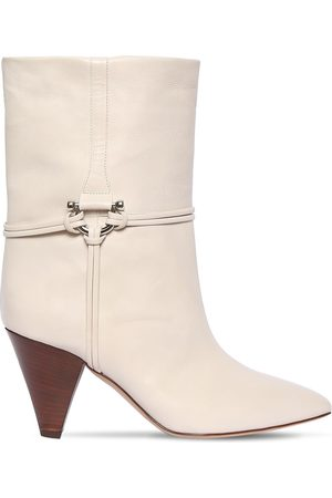 Isabel Marant 75mm Lilet Leather Ankle Boots