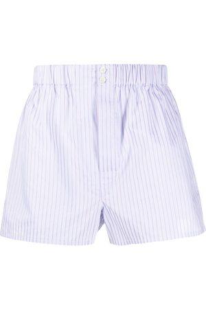 BRIONI Striped print shorts