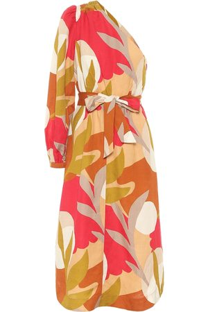 Rebecca Vallance Sangria printed midi dress