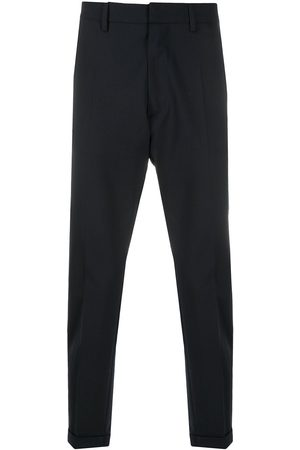 Dsquared2 Mid-rise tailored tapered trousers