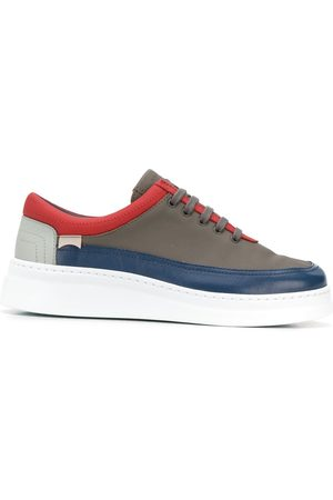 Camper Panelled trimmed sneakers