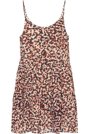 Velvet Zahara animal-print cotton minidress