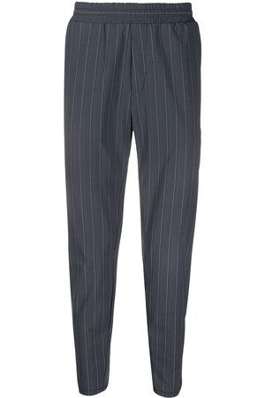 Hydrogen Striped slim-fit trousers
