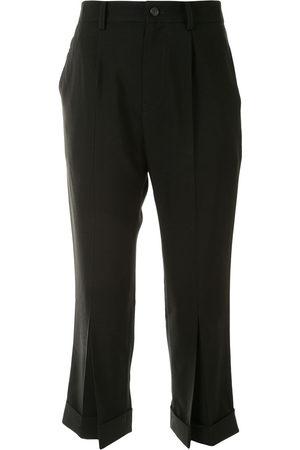 YOHJI YAMAMOTO Cropped tailored trousers