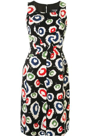 CHANEL 1997 patterned dress