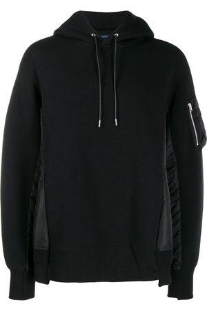 SACAI Sponge Sweat X MA-1 hoodie