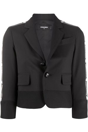 Dsquared2 Cropped single-breasted blazer