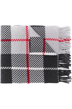 MACKINTOSH Scarves - Fringed tartan scarf