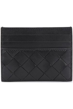 Bottega Veneta Intrecciato detailed cardholder