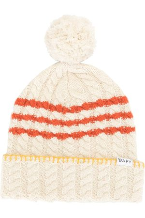 BAPY BY *A BATHING APE® Women Beanies - Cable-knit beanie