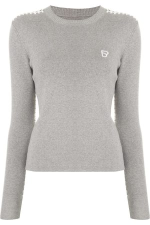 BAPY Long sleeve embroidered logo sweater