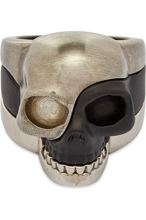 Alexander McQueen Men Rings - Stack Skull Ring