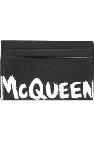 Alexander McQueen Graffiti Card Holder