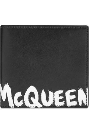 Alexander McQueen Graffiti Billfold Wallet