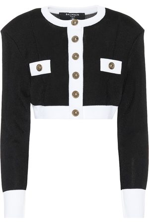 Balmain Cropped cardigan