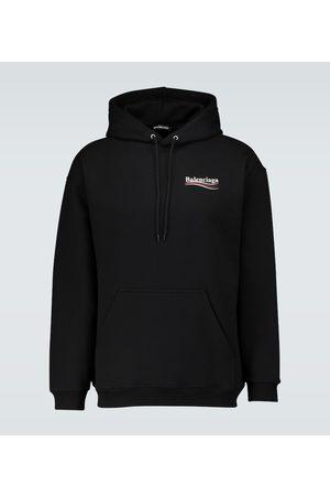 Balenciaga Political logo hooded sweatshirt