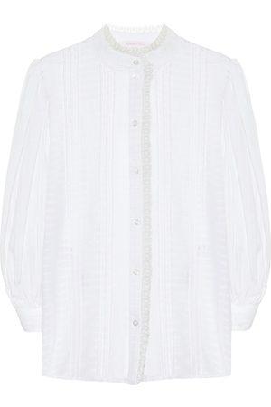 Chloé Cotton voile blouse