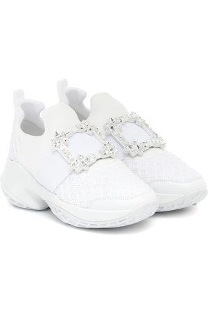 Roger Vivier Viv' Run embellished sneakers
