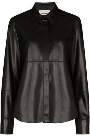 Nanushka Button-up long-sleeve shirt