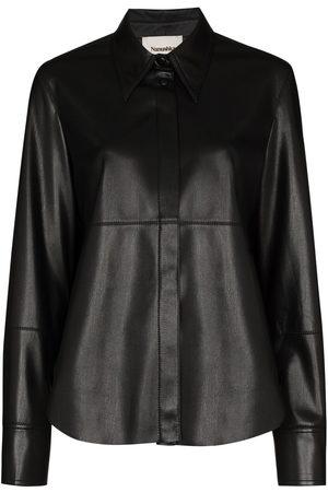 Nanushka Women Long Sleeve - Button-up long-sleeve shirt
