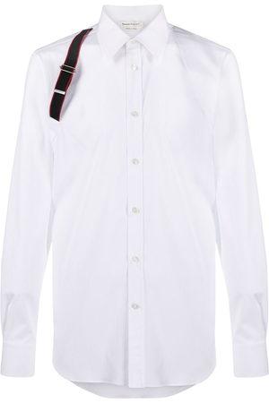 Alexander McQueen Single brace detail shirt