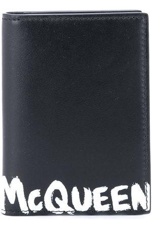 Alexander McQueen Men Wallets - Logo-print cardholder