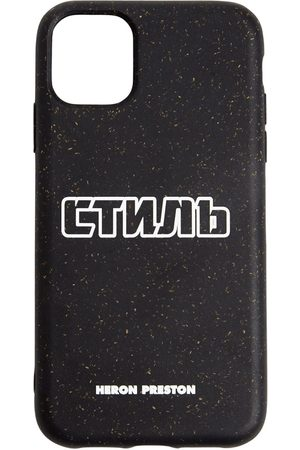 Heron Preston Men Phone Cases - Logo Print Tech Iphone 11 Cover