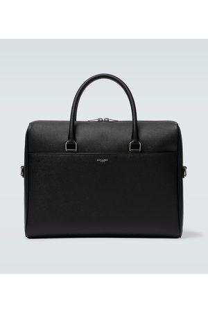 Saint Laurent Duffle leather briefcase