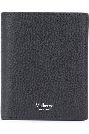 MULBERRY Men Wallets - Logo-stamp tri-fold wallet