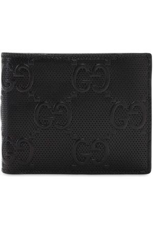 Gucci Men Wallets - Gg Debossed Leather Wallet