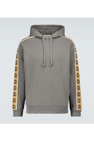 Gucci GG-trimmed hooded sweatshirt