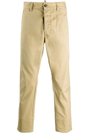 Dsquared2 Men Chinos - Slim-fit cropped chino trousers