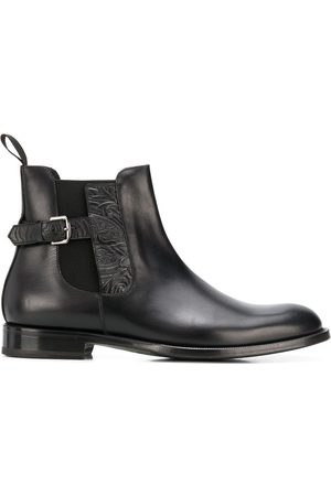 Etro Men Boots - Buckle-embellished chelsea boots